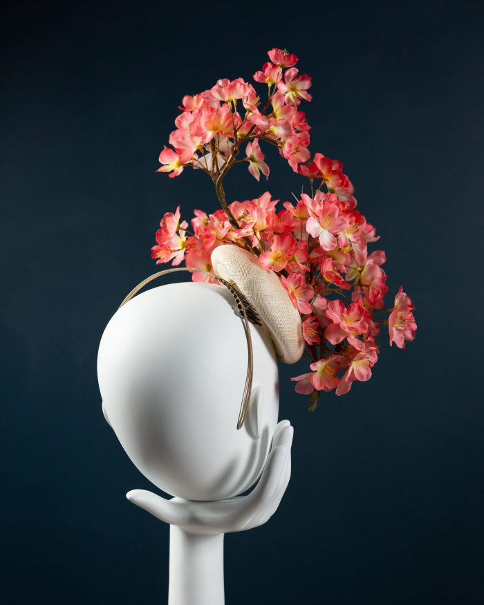 Chinoiserie headpiece