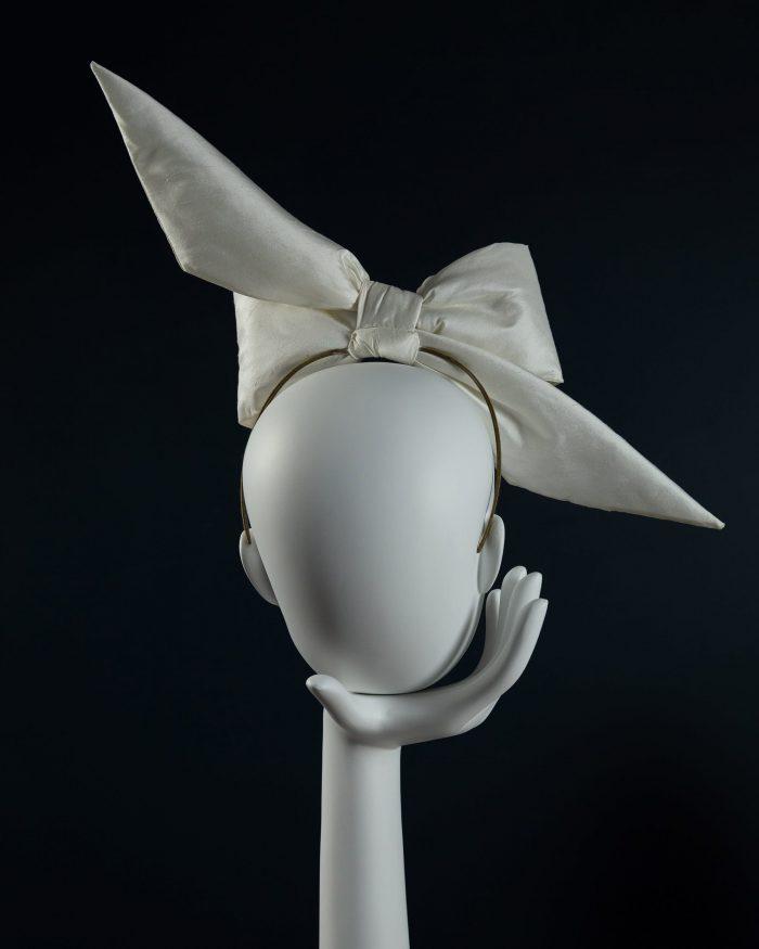 Padded Silk Bow