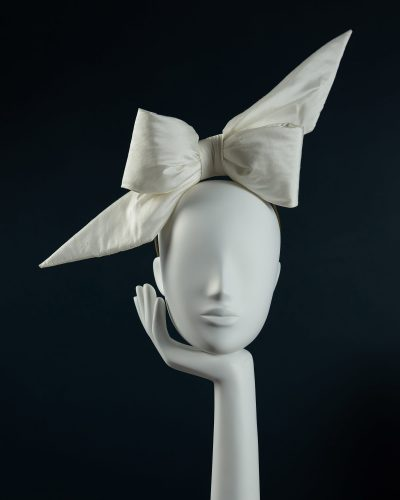 Padded Silk Bow