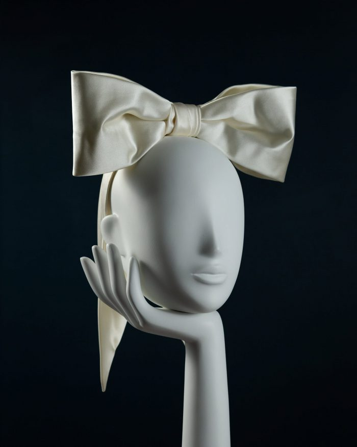 Silk Structured Bow