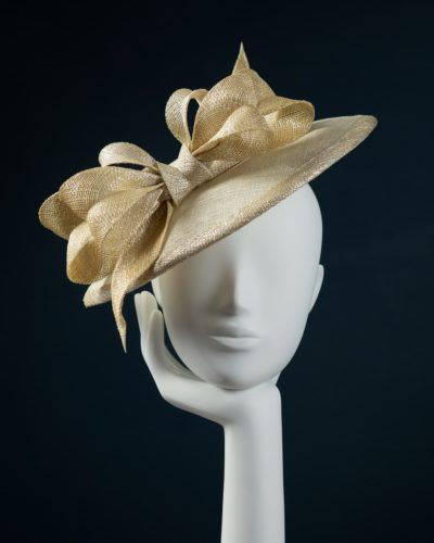 Gold Brim Down hat