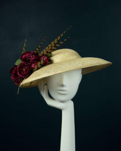 Natural Mushroom Brim Hat