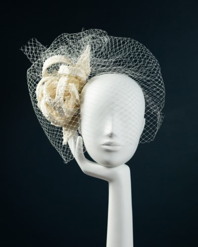 Abstract Bow Headpiece