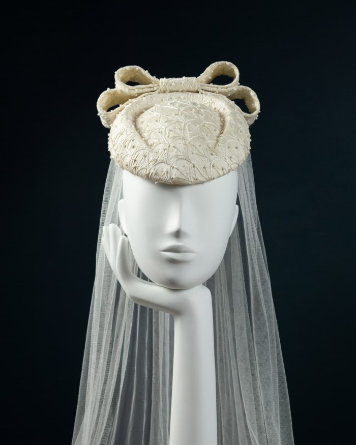 Beaded Beret Percher