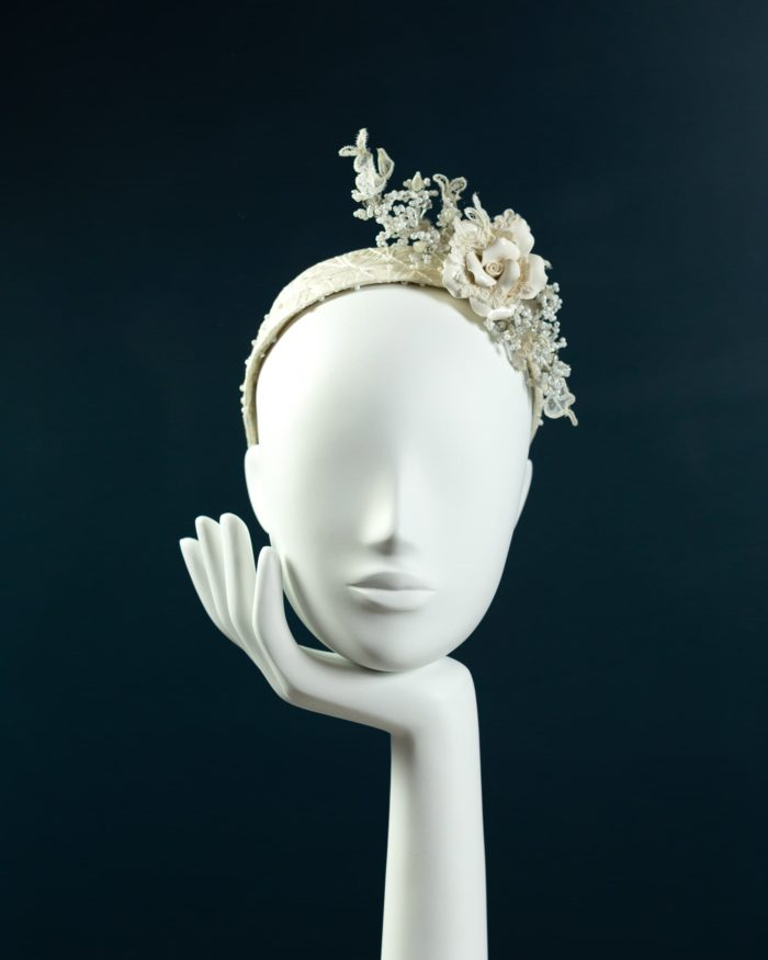 Ceramic Rose Headband