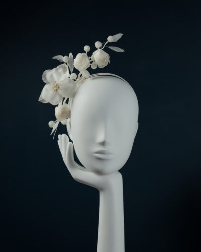 Silk Blossom Headpiece