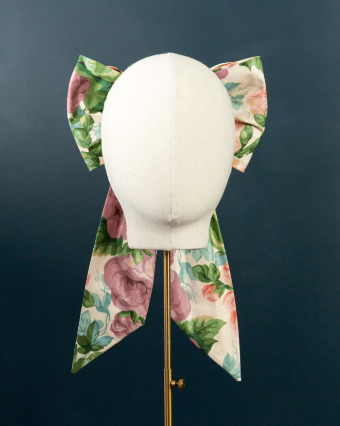 Chintz Double Bow hat