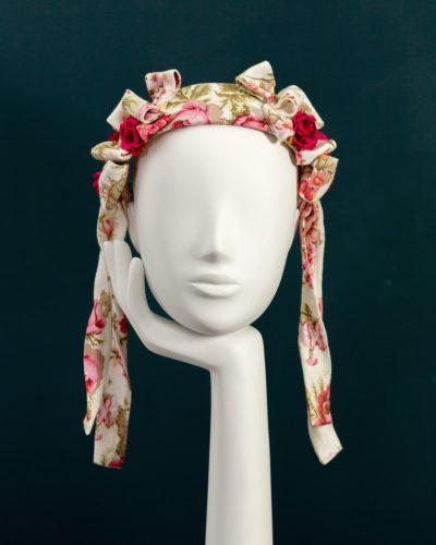 Chintz Floral Bonnet