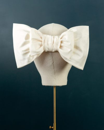 Flat Silk Double Bow