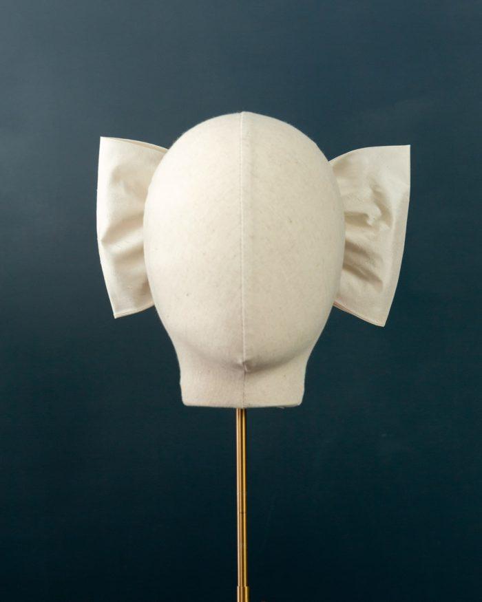 Flat Silk Double Bow