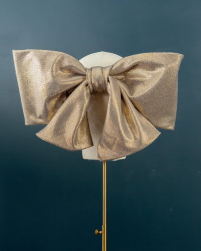 Gold Metallic Bow
