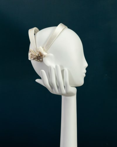 Ivory Juliet Cap Band