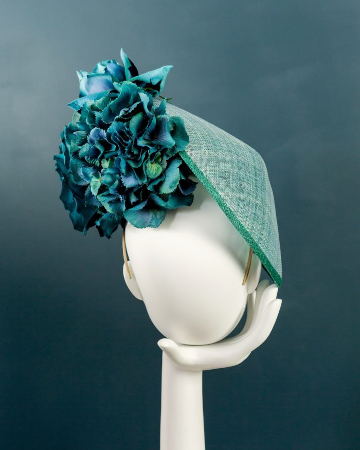 Side Plate Hydrangea hat