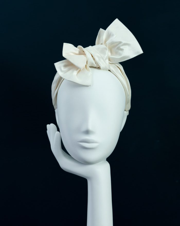 Twisted Bow Headband